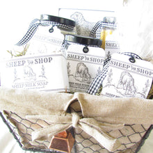 Load image into Gallery viewer, Sheep Milk Gift Basket - Relaxing English Lavender