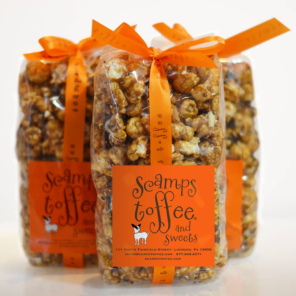 Scamps Pops Bag Toffee Popcorn