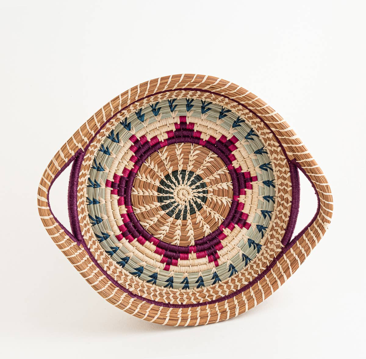 Chumil Basket - Purple