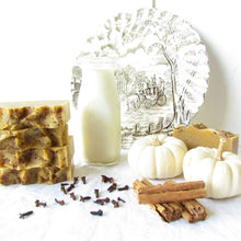 Load image into Gallery viewer, Comforting Autumn Spice Sheep Milk Soap