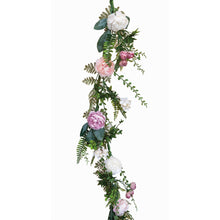 Load image into Gallery viewer, Spring Peony Garland, 4'