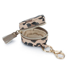 Load image into Gallery viewer, Leopard Diaper Bag Charm Pod Keychain