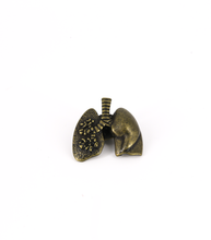 Load image into Gallery viewer, Metal Human-Lung Pin