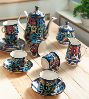Jungle Flower tea Set