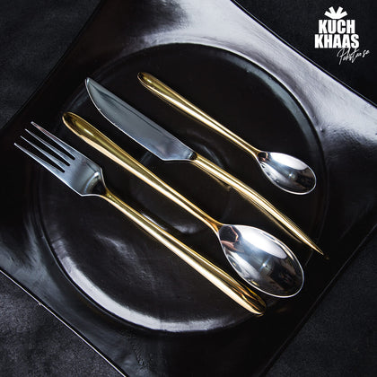 Chester Gold Cutlery - Made for the MODERN WOMEN