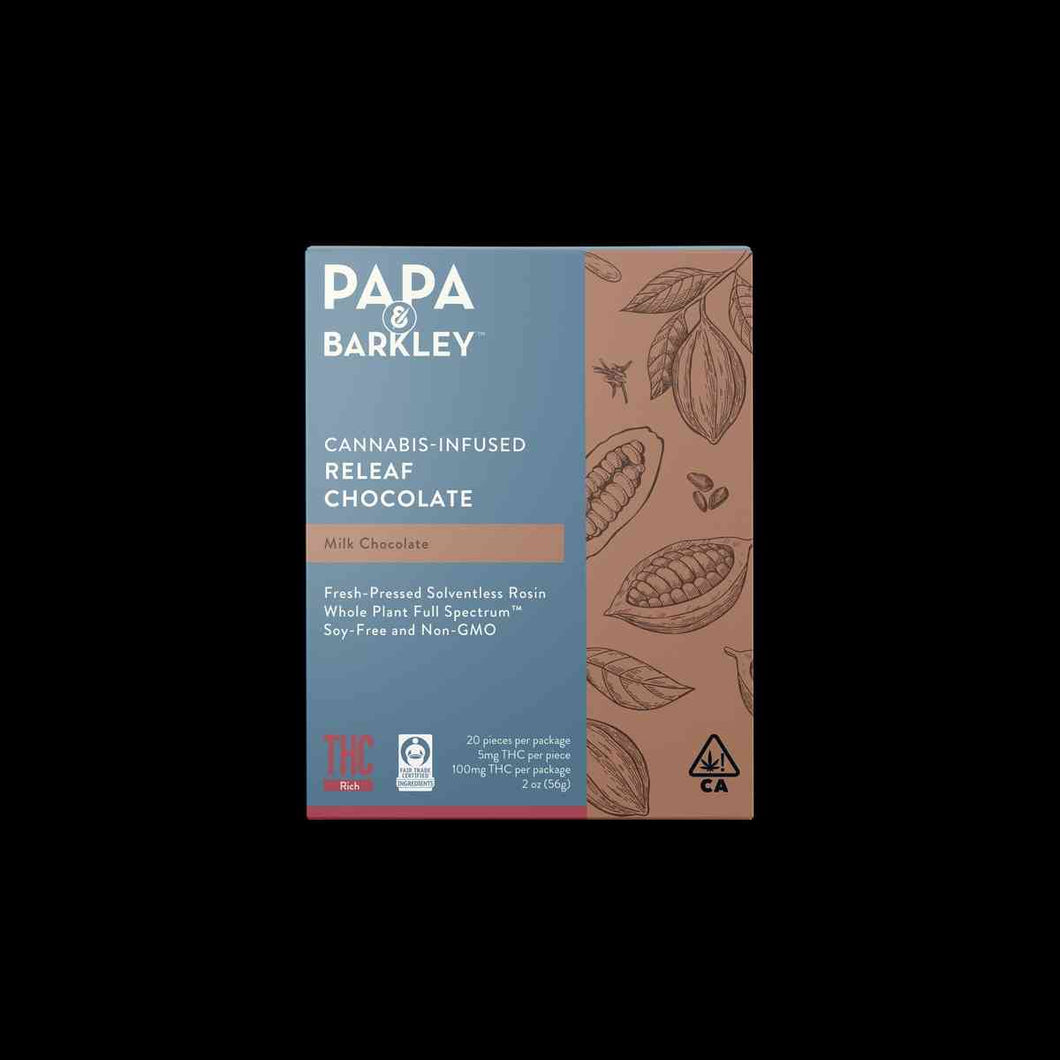 Papa & Barkley Releaf Chocolate Bar