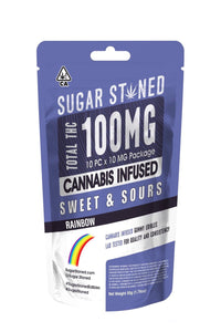 Sugar Stoned - Rainbow Belts 100mg