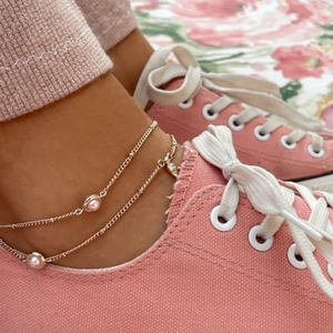 Convertible Halo Anklet/Necklace