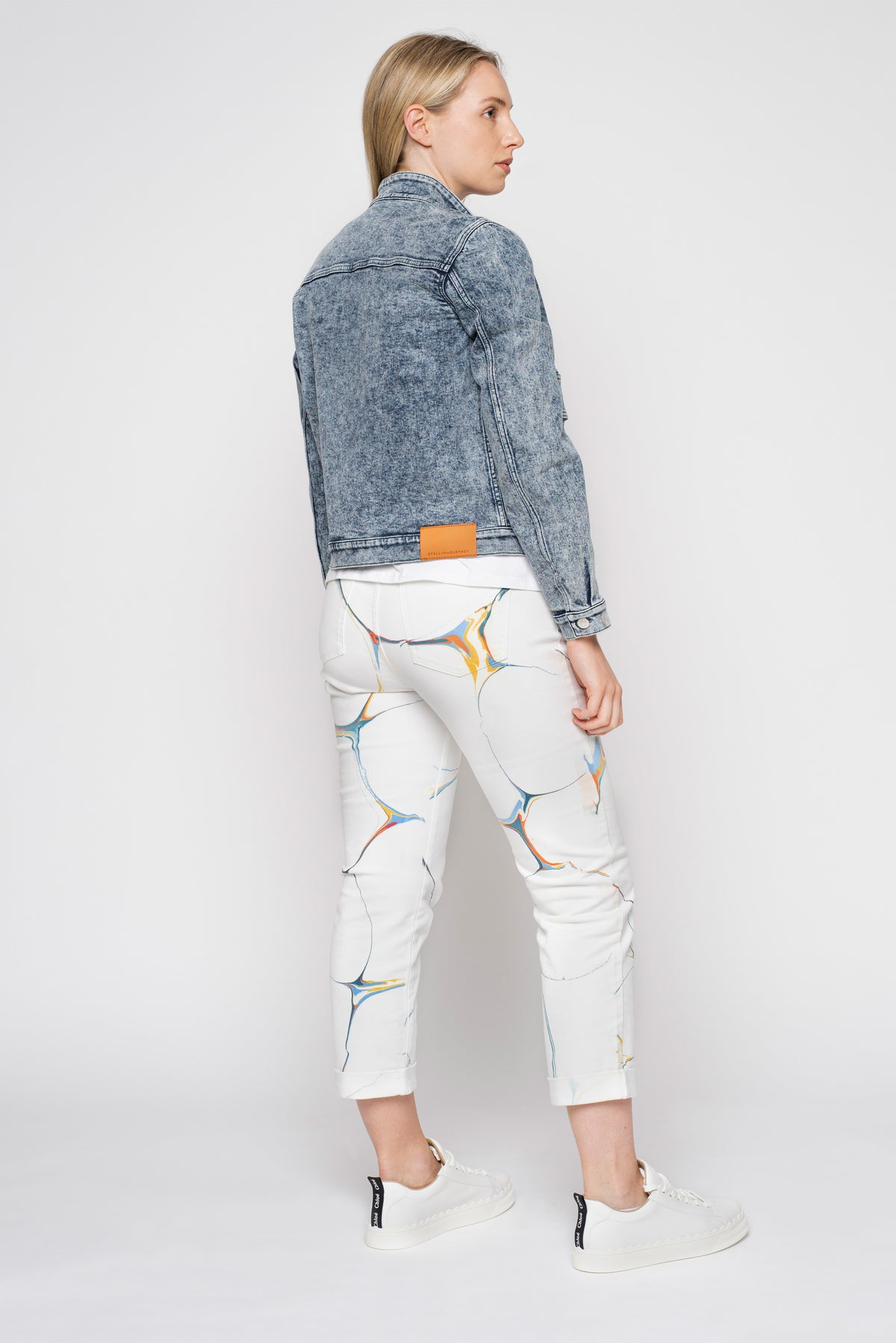 Stella McCartney Salt Wash Denim Jacket