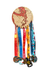 Load image into Gallery viewer, Padauk Medal Rack