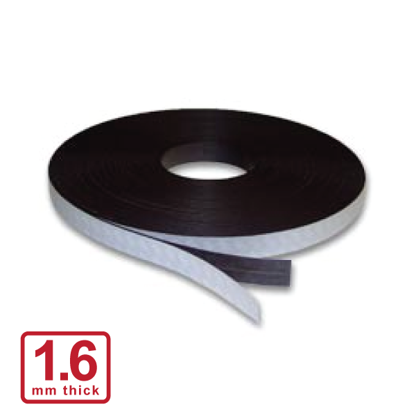 20 x 1.6mm Self Adhesive Stripping (Flexible Rubber)