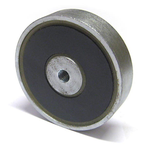 102 x 22mm Pot with M10 Thread (Ferrite)