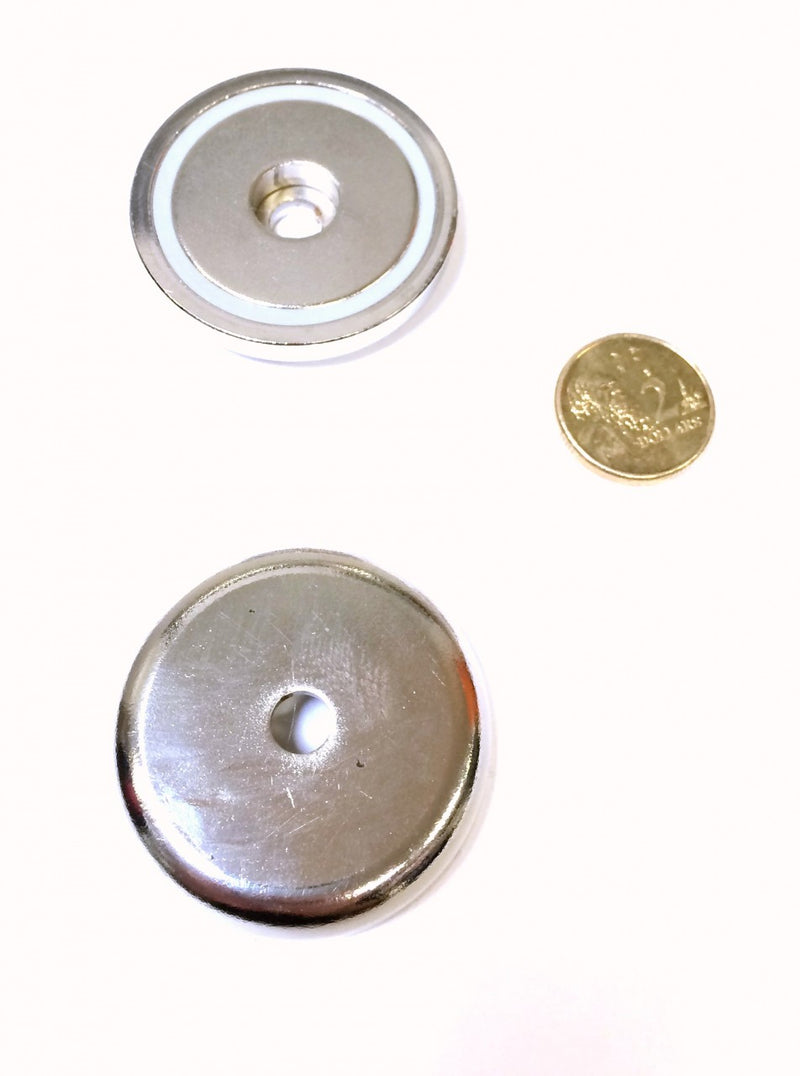42 x 9mm Pot with 6.5mm Hole (Rare Earth)
