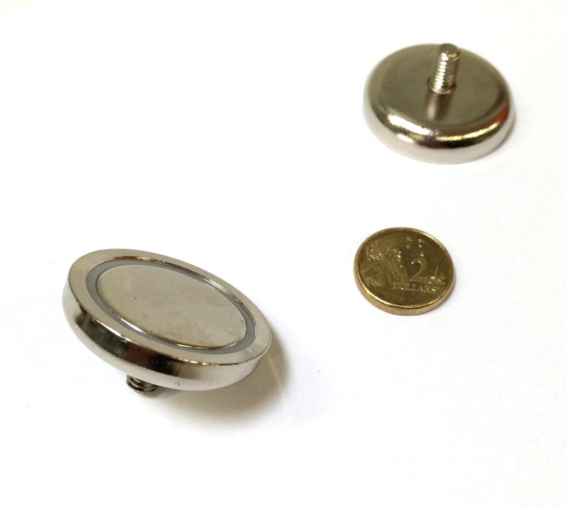32 x 8mm Pot with 6mm Thread & 10mm Boss (Rare Earth)