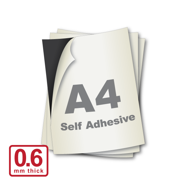 A4 x 0.6mm Self Adhesive (Standard A4)