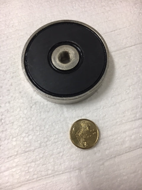 63 x 13mm Pot with M10 Thread (Ferrite)