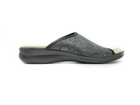 "Polyflex ""comfort made in Italy"" Slip-on House Sandal (Elastic)"