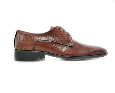 Shoe's from Italy (Men's Brown Derby)