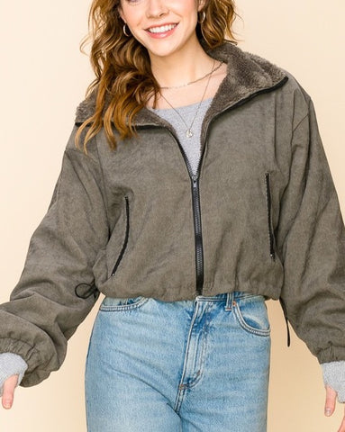 Super Cozy Corduroy Jacket