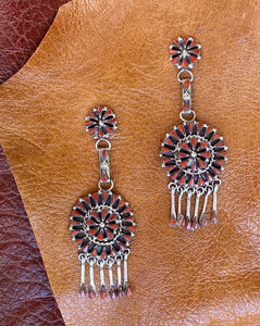 Dream Catcher Cluster Earrings