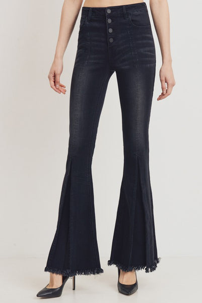 Firming High Waisted Flare Jeans