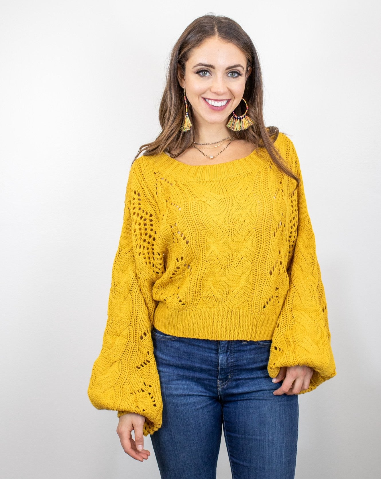 Marigold Bell Sweater
