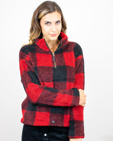 Plaid With a Zipper