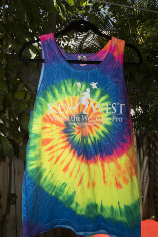 Men's Tie-Dye Tanks
