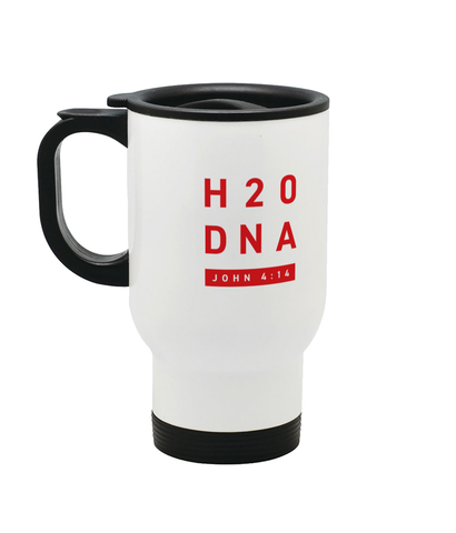Stainless Steel Travel Mug H2O DNA
