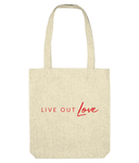 EarthAware Organic Spring Tote Live Out Love