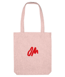 EarthAware Organic Spring Tote OM Logo