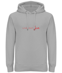 Unisex Pullover Hoodie Live Out Love
