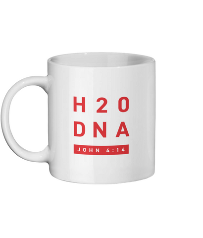 Ceramic Mug 11oz H2O DNA