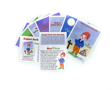 Load image into Gallery viewer, Elfpreneur cards. Introduce children to the elves who made their Christmas presents.