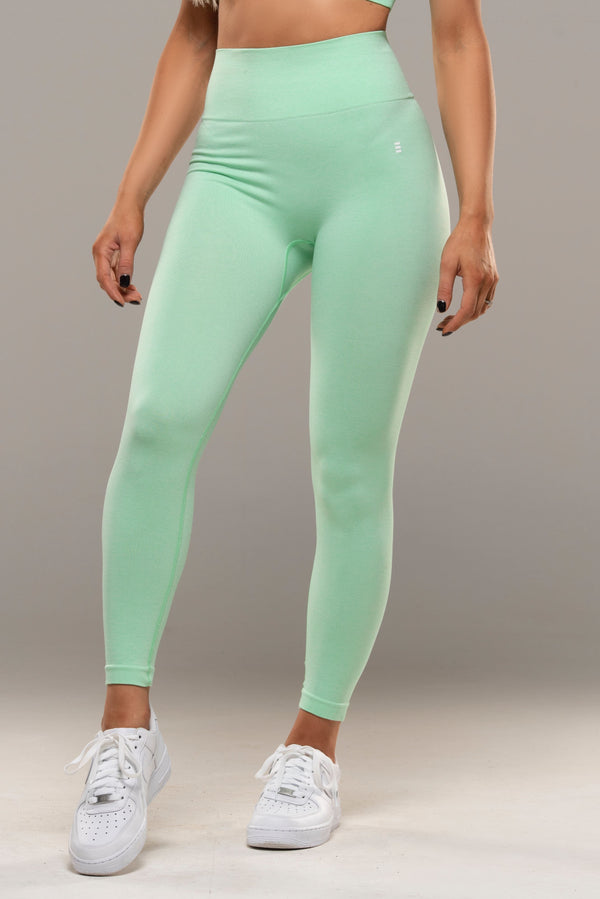 VIBE Green Leggings - Energy Gym Wear