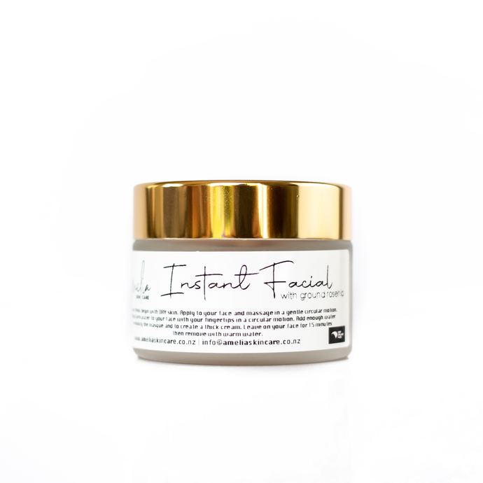 Instant Facial Mask (50g) prepares your skin quickly