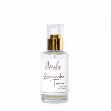 Load image into Gallery viewer, Lavender Toner (100ml) helps close open pores