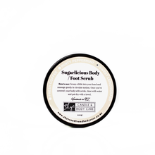 Load image into Gallery viewer, Sugar Body/Foot Scrub (200g) - Exfoliate & refresh