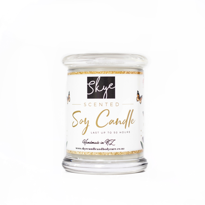 Bamboo White Lilly - Soy Candle (4oz) - Floral delight