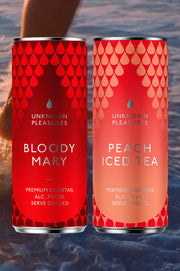 Bloody Mary & Peach Iced Tea