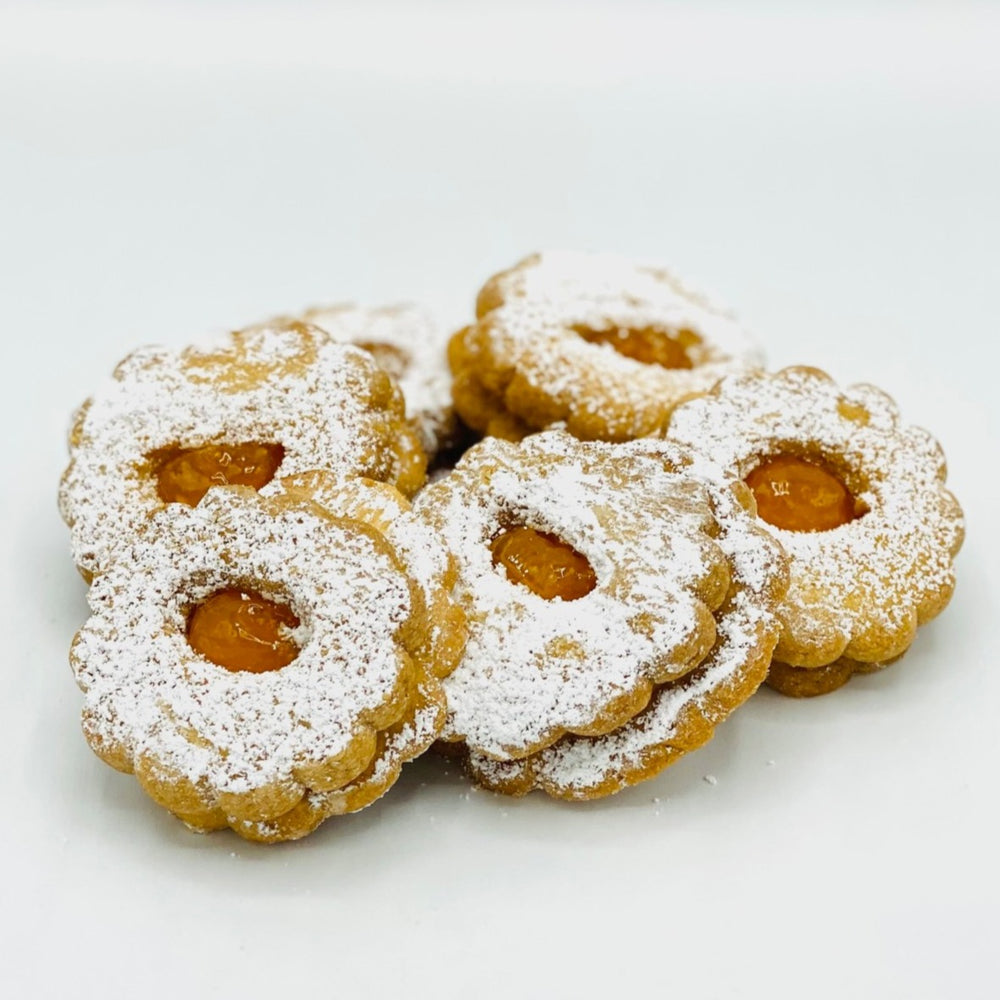Apricot Flower Cookie