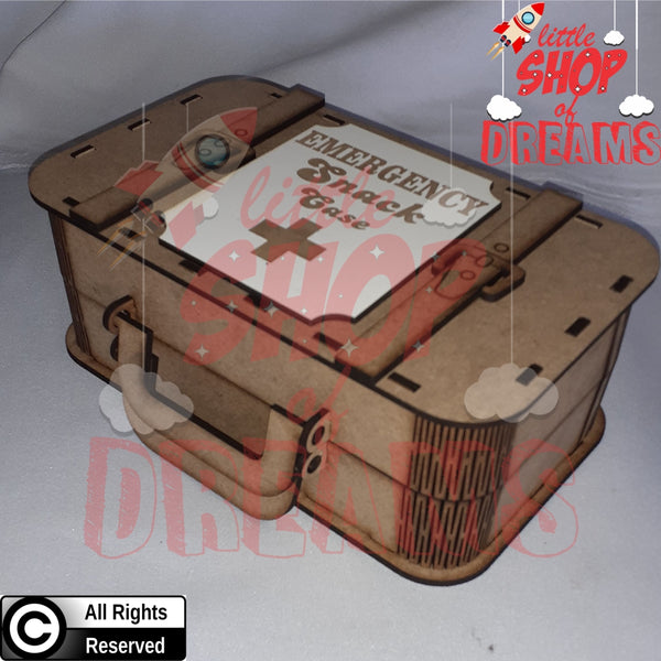 Retro Suitcase Box