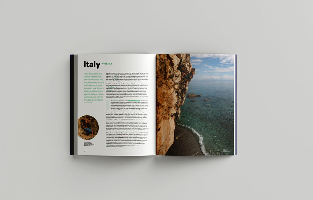 Italy - The Climbing Travel Guide Book - Low Gravity Climbing