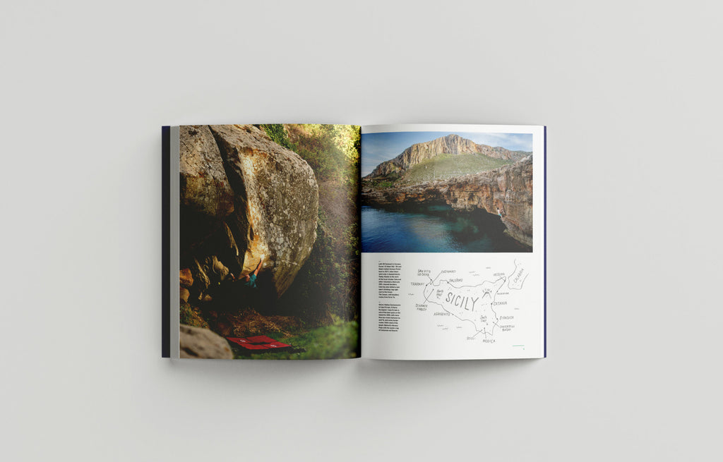 Sicily - The Climbing Travel Guide Book - Low Gravity Climbing