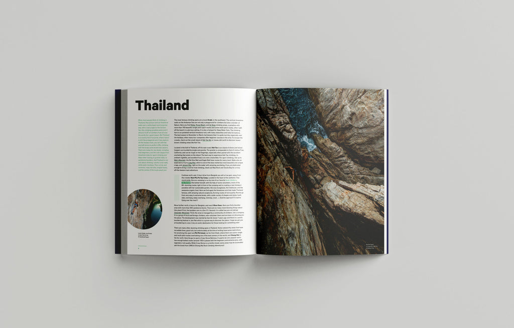 Thailand- The Climbing Travel Guide Book - Low Gravity Climbing
