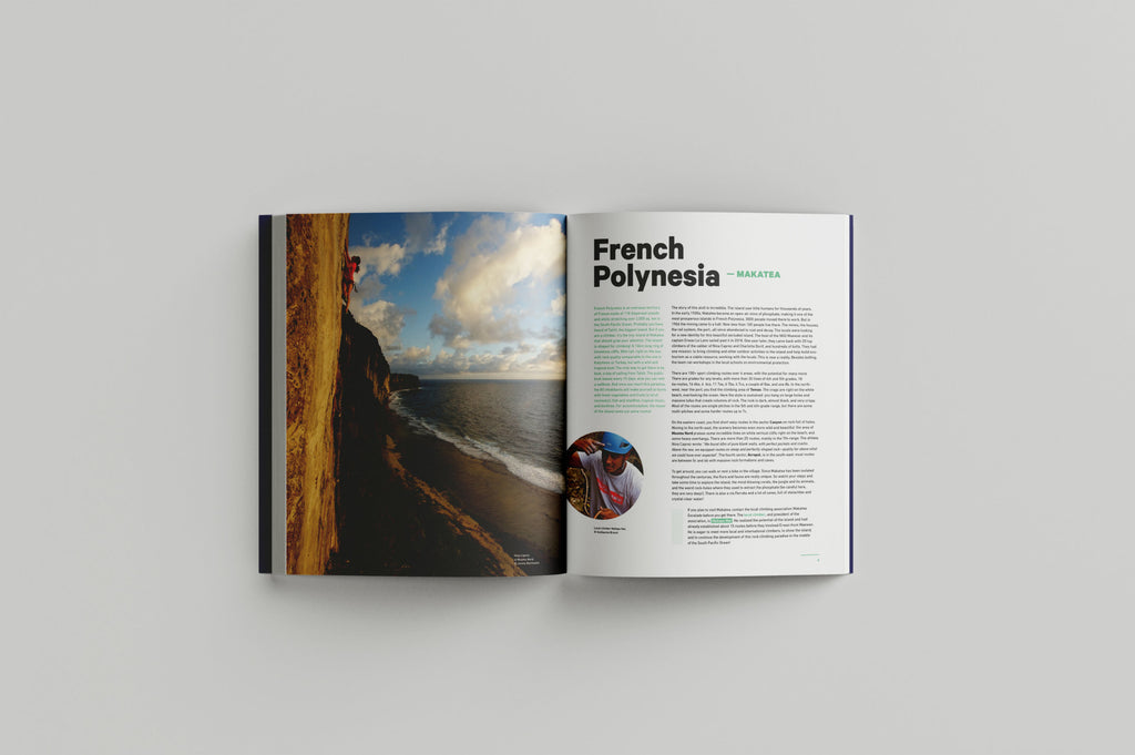 French Polynesia - The Climbing Travel Guide Book - Low Gravity Climbing