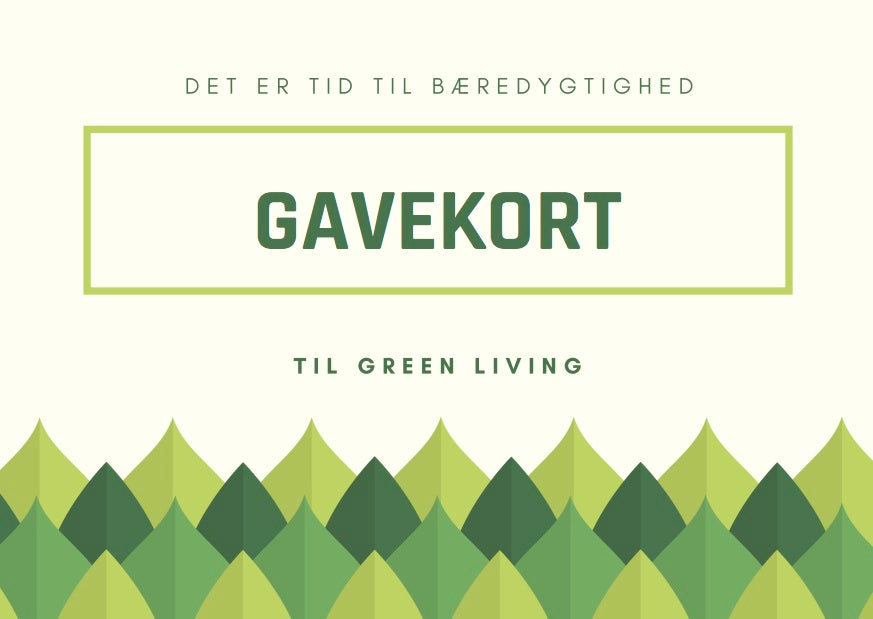 Green Living Gavekort