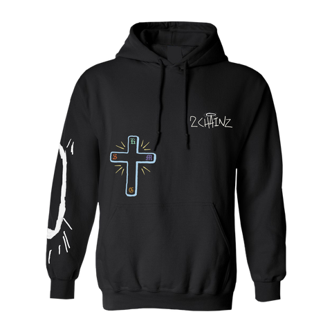 So Help Me God Cross Hoodie