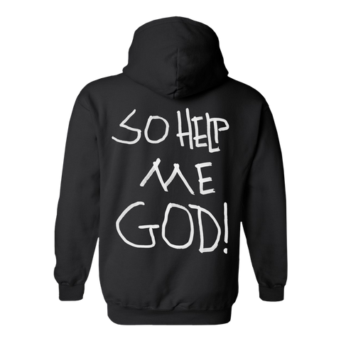 So Help Me God Halo Hoodie