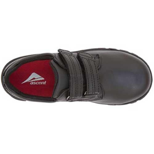 Ascent - Academy Jr - Lim's School Shoes -Boys and girls school shoes .Available in black and white. Leather and sport